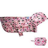 RC Pet Products Packable Pink Dog Poncho I003401b