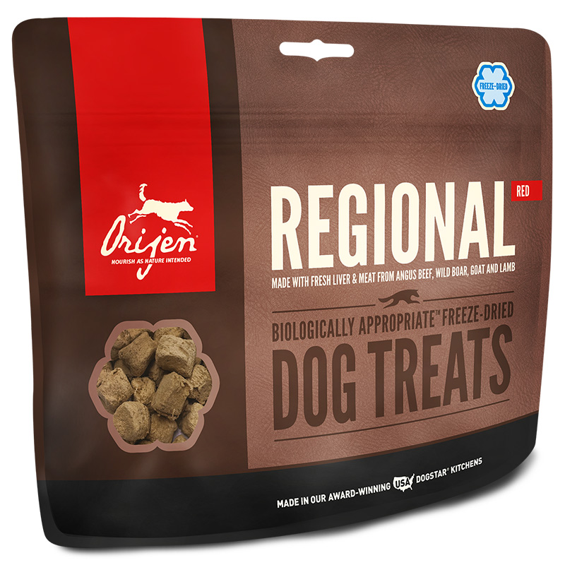 Orijen® Freeze Dried Natural Dog Treats Regional Red I003424b