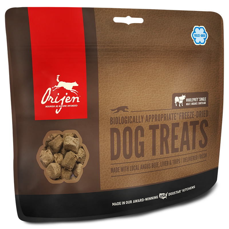 Orijen® Freeze Dried Natural Dog Treats Black Angus Beef I003430
