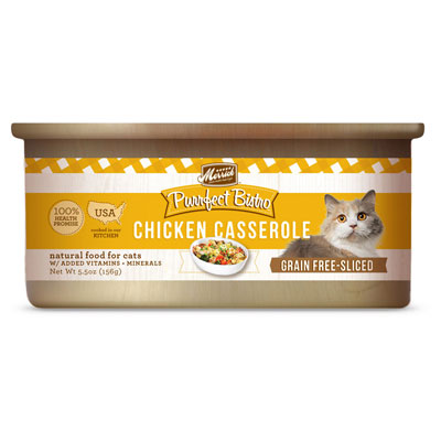 Merrick® Purrfect Bistro Grain Free Chicken Casserole Canned Cat Food 5.5 oz. I003459