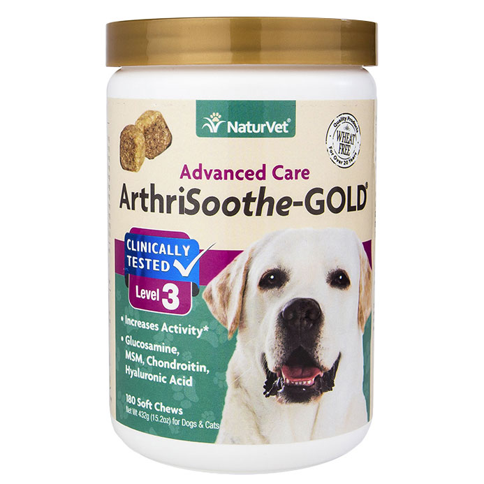 NaturVet® ArthriSoothe-GOLD® Soft Chews for Dogs, 180 ct. I003496
