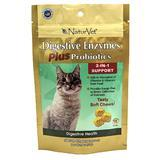 NaturVet® Digestive Enzymes Plus Probiotics Soft Chews for Cats, 50 ct. I003498