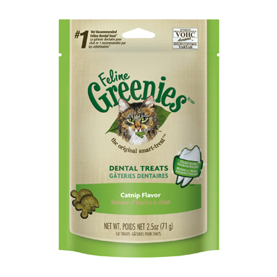 Feline Greenies® Dental Treats Catnip I003880e