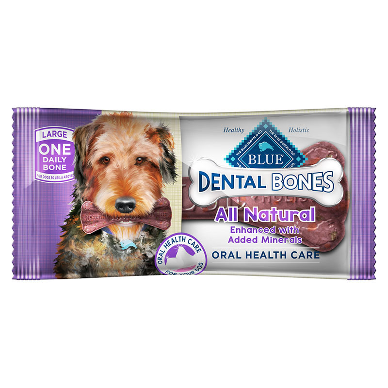 Blue Buffalo BLUE Bones® Natural Dental Chew I004020b