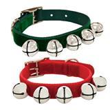 Coastal® Velvet Jingle Bells Collars I004212b