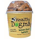 Healthy Dogma™ Bacon Flavor Barkers Treats for Dogs, 8 oz. I004249