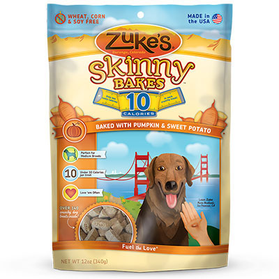 Zuke's® Skinny Bakes Mini 10 Calorie Dog Biscuits Pumpkin 'n Sweet Potato Crunch I004326