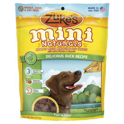 Zuke's® Mini Naturals™ Healthy Moist Dog Treats Duck I004332