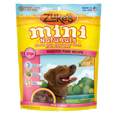 Zuke's® Mini Naturals™ Healthy Moist Dog Treats Pork I004335b