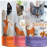 Purina® Pro Plan® Savory Bites Cat  Snacks, 2.1 oz. I004337b