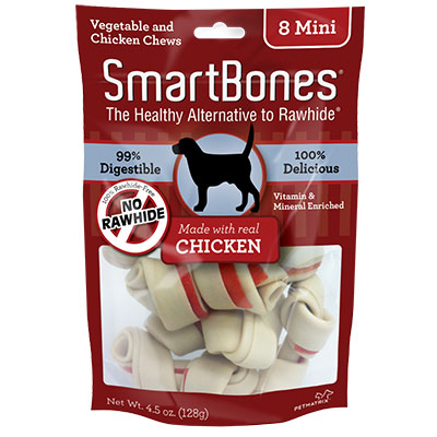 SmartBones® Vegetable & Chicken Mini Chews for Dogs Chicken I004348b