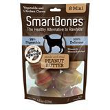 SmartBones® Vegetable & Chicken Mini Chews for Dogs Peanut Butter I004343b
