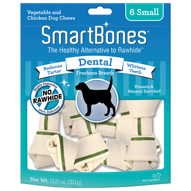 SmartBones® Vegetable & Chicken Chews for Dogs Dental I004360b