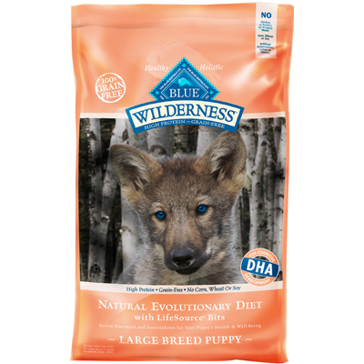 Blue Buffalo BLUE™ Wilderness™  Chicken Recipe Large Breed Puppy Dry Dog Food, 24 lbs. I004428