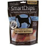 SmartChips® Vegetable & Chicken Chews for Dogs Peanut Butter 12 pack I004430