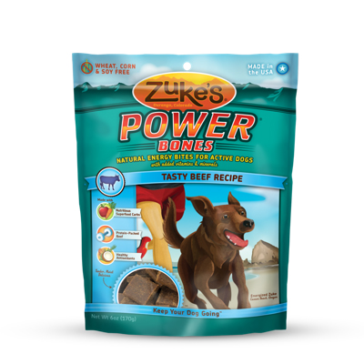 Zuke's® Power Bones Dog Treats 6 oz. Beef I004770