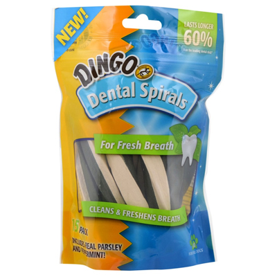 Dingo® Dental Spirals for Fresh Breath I004781b