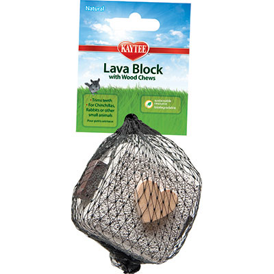 Kaytee® Lava Block with Wood Chews I004952