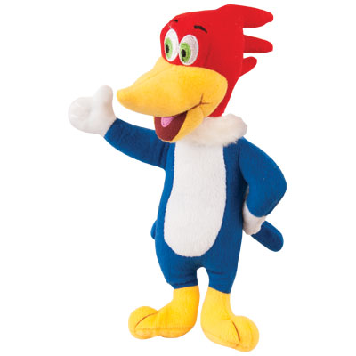 "Multipet™ Woody Woodpecker™ Dog Toy, 10"" I004971"