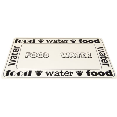 Petrageous® Designs Placemat Food/Water I004999