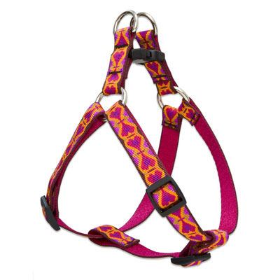 "Lupine®Heart 2 Heart Pattern Step-In Harness 3/4"" x 15""-21"". I005021"