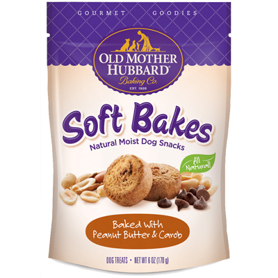 Old Mother Hubbard® Gourmet Goodies Soft Bakes Peanut Butter & Carob 6 oz. I005637