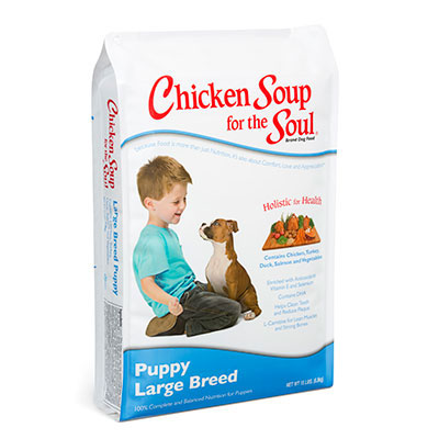 Chicken Soup for the Soul® Large Breed Puppy Dry Food 30 lbs. I005652