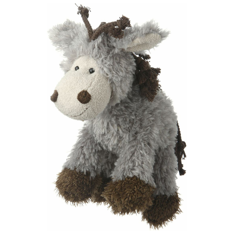Multipet Mane Event Plush Donkey & Lion Dog Toys I005794