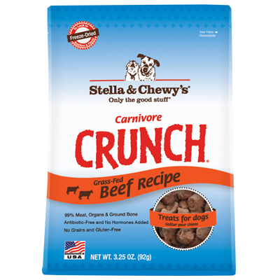 Stella & Chewy's® Carnivore Crunch Beef 3.25 oz.  I005838