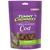 Yummy Chummies® Grain Free Soft & Chewy Cat Treats Cod Recipe 3 oz. I006056