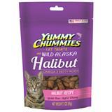 Yummy Chummies® Grain Free Soft & Chewy Cat Treats Halibut Recipe 3 oz. I006057
