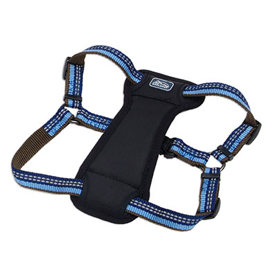 Coastal K9 Explorer Reflective Adjustable Padded Dog Harness Sapphire  I006407e