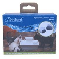 Drinkwell Ceramic Fountain Replacement Filters 4pk I006625