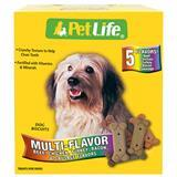 Sunshine Mills PetLife® Dog Biscuits Multi Flavor 4 lbs. I006747