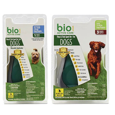 Bio Spot® Active Care™ Flea & Tick Spot On® for Dogs I006776b