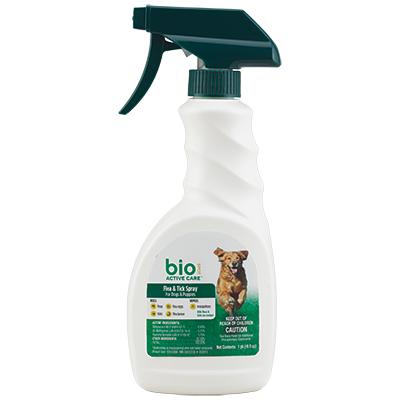 Bio Spot® Active Care™ Flea & Tick Spray for Dogs & Puppies 16 oz. I006802