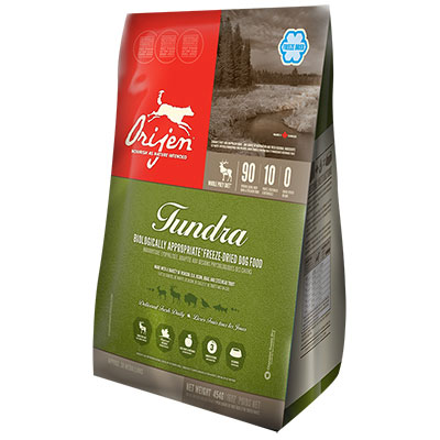 Orijen® Tundra Freeze Dried Biologically Appropriate™ Dog Food 6 oz. I006810