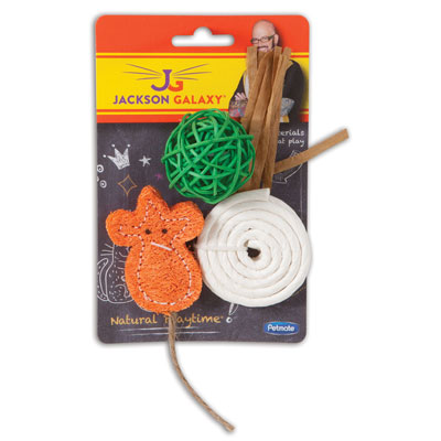 Petmate® Jackson Galaxy™ Natural Playtime™ Cat Toys I006880