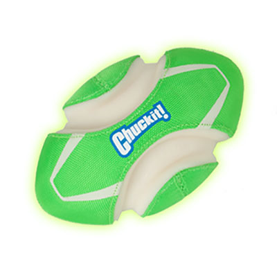 Chuckit® Max Glow™ Fumble Fetch® Dog Toy I006930