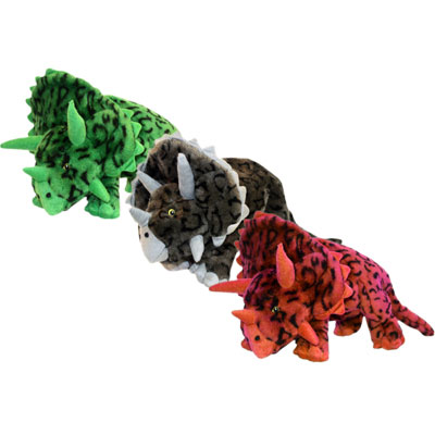 Multipet Triceratops Dog Toy With Squeakers I006995