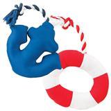 Multipet Nautical Plush and Rope Dog Toys I006999b