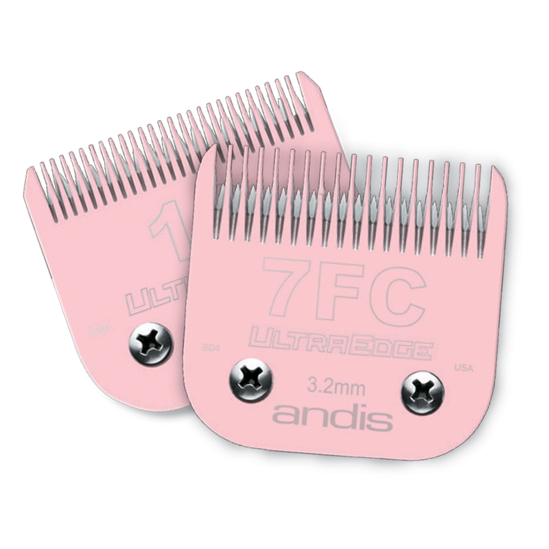 Andis Electro-Glide Technology (EGT) UltraEdge Pet Blade Pink 7FC I007035