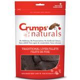 Crumps' Naturals Traditional Beef Liver Fillets Dog Treats I007114b