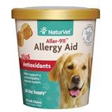 NaturVet® Aller-911® Allergy Aid Plus Antioxidants Soft Chews for Dogs I007161