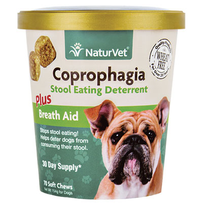 NaturVet® Coprophagia Plus Breath Aid Soft Chews 70 ct. I007163