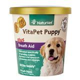 NaturVet® VitaPet™ Puppy Plus Breath Aid Soft Chews 70ct I007169