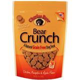 Charlee Bear® Bear Crunch All Natural Grain Free Treat Chicken, Pumpkin & Apple 8 oz.  I007235