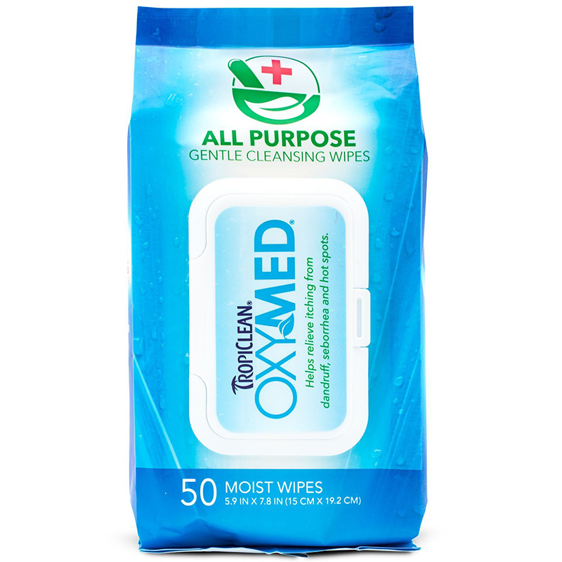 Tropiclean® OxyMed® All Purpose Wipes 50 ct. I007265
