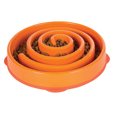 Outward Hound Fun Feeder Orange I007304e