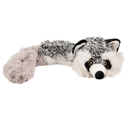 Multipet Bouncy Burrow Buddies™ Raccoon Dog Toy I007385